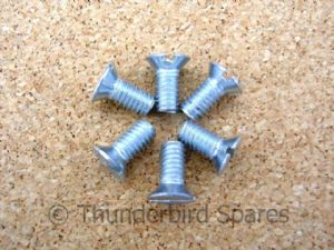 Screw Set, Sprocket Cover Plate, Triumph Twins, 1958-1983, 70-3821